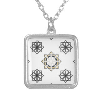 spirograph-multiple-shapes3-35 silver plated necklace
