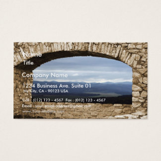 Spis Castle Largest Castle Of Central Europe View Business Card