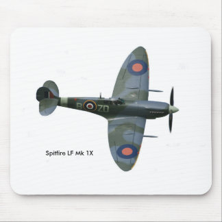 Spitfire Aircraft image for Mouse-pad Mouse Pad
