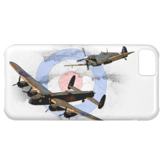 Spitfire and Lancaster Case For iPhone 5C