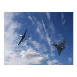 Spitfire and Typhoon Postcard