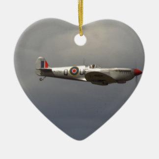 Spitfire Ceramic Ornament
