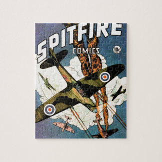 Spitfire Fighter Aircraft - World War Two Jigsaw Puzzle