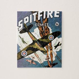 Spitfire Fighter Aircraft - World War Two Jigsaw Puzzle