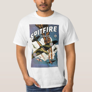 Spitfire Fighter Aircraft - World War Two T-Shirt