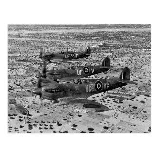 Spitfire Fighters Over Africa, 1943 Postcard