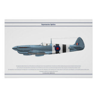 Spitfire GB 16 Sqn 2 Poster
