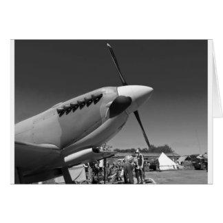 Spitfire Mk 1A Card