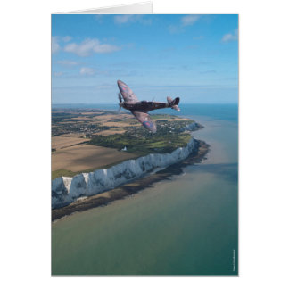 Spitfire over England Card
