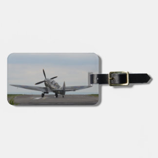 Spitfire Ready For Takeoff Luggage Tag