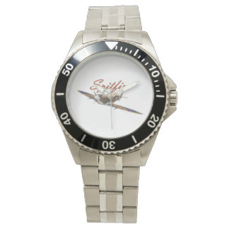 Spitfire stainless steel watch