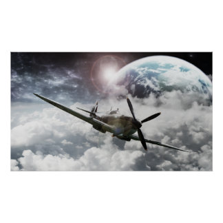 Spitfires Last Journey poster