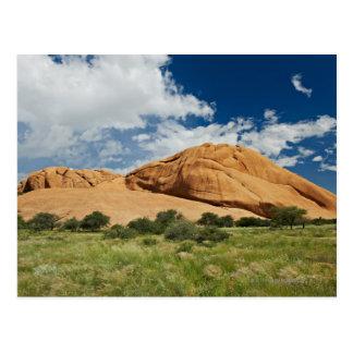 Spitzkoppe or Spitzkuppe, arid mountain Postcard