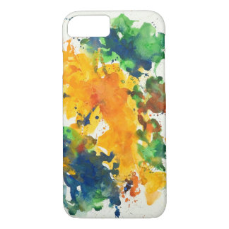 Splash Art Colorful iPhone 7 Case