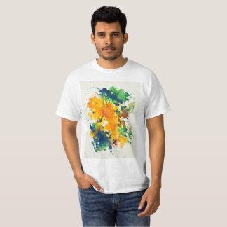 Splash Art Watercolor Colorful Abstract T-Shirt