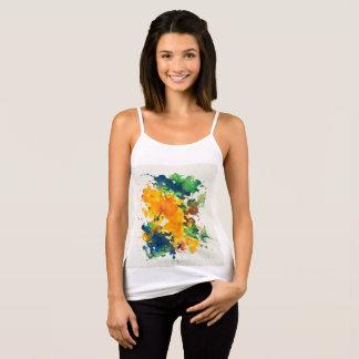Splash Art Watercolor Colorful Abstract Tank Top