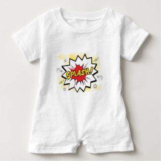 splash baby romper