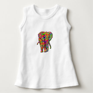 Splash Elephant Dress