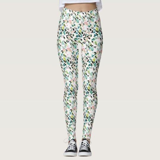Splash floral leggings (any size)