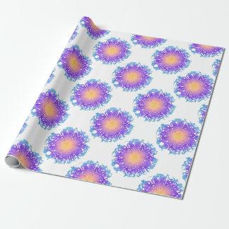 Splash Flower Wrapping Paper