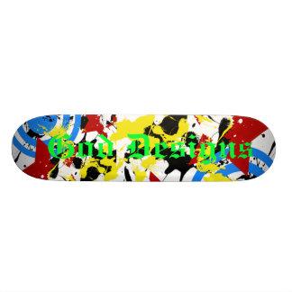 Splash, God Designs Skate Board Deck