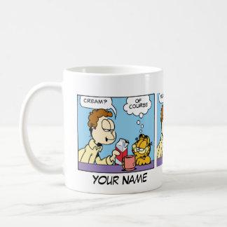 """Splash of Coffee"" Garfield Comic Strip Coffee Mugs"