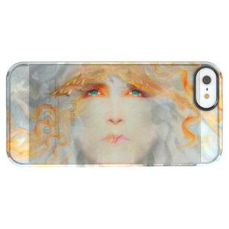 Splash of Color Make Up Art Fantasy Clear iPhone SE/5/5s Case