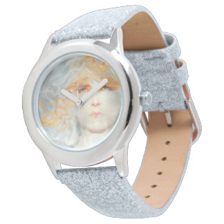 Splash of Color Make Up Art Fantasy Glitter Watch
