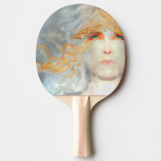 Splash of Color Make Up Art Fantasy Ping Pong Paddle