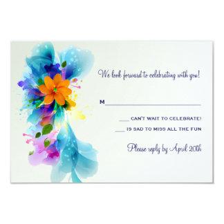 Splash of Color Response Card
