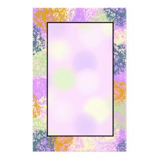 Splash of Colors ~Pastel Style~ Stationery