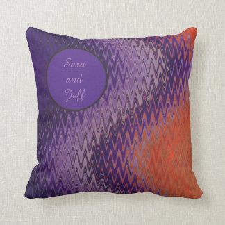 Splash of Colour Throw Pillow