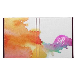 Splash of Watercolor iPad Case