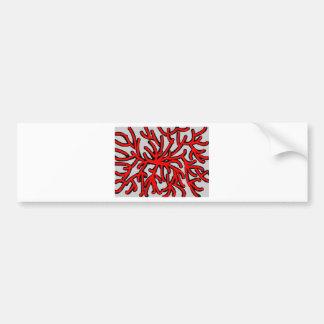 splash or splotch bumper sticker