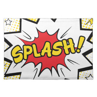 splash placemat