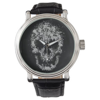 Splash skull watch