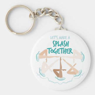 Splash Together Keychain