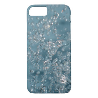 SPLASH WATER AQUA BLUE ART iPhone 7 HARD CASE