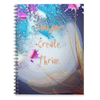 Splashes and Wings Create Photo Notebook