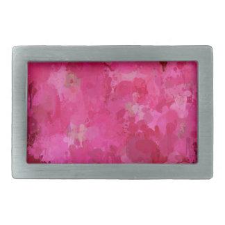 splashes of color, hot pink rectangular belt buckle