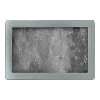 Splashes of fountain water (black and white) belt buckles