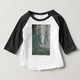 Splashes of fountain water in a sunny day baby T-Shirt