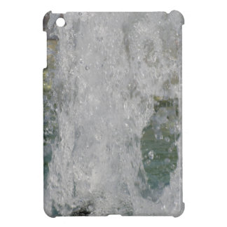 Splashes of fountain water in a sunny day cover for the iPad mini