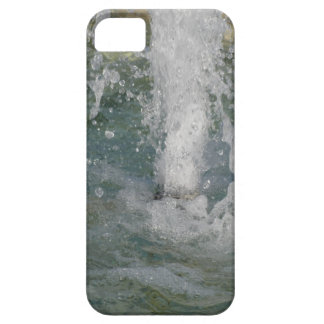 Splashes of fountain water in a sunny day iPhone 5 cases