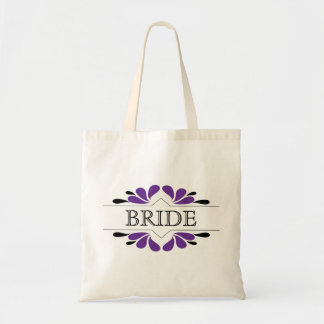 Splashes of Purple and black BRIDE