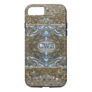 Splashforze Elegant  VII Cool Monogram iPhone 8/7 Case