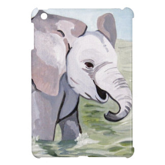 Splashing About Baby Elephant iPad Mini Covers