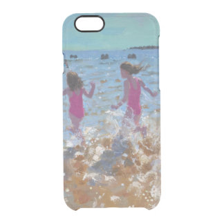 Splashing in the sea Clacton. 2014 Clear iPhone 6/6S Case