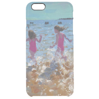 Splashing in the sea Clacton. 2014 Clear iPhone 6 Plus Case