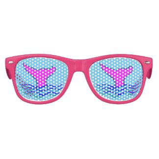 """Splashing Whale Flipper"" Kids Sunglasses"